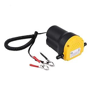 Ausla Bomba extractora de Aceite y diésel Bomba de aspiración de 12V 60W rápido y Sencillo Aceite 1L/min