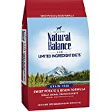 Cheap Natural Balance L.I.D. Limited Ingredient Diets Dry Dog Food, Grain Free, Sweet Potato & Bison Formula, 26-Pound