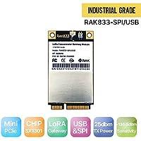 RAKWireless RAK833 SPI&USB Industrial Grade Mini PCIe LoRa Gateway Concentrator Module US915, SX1301 & FT2232H Chip