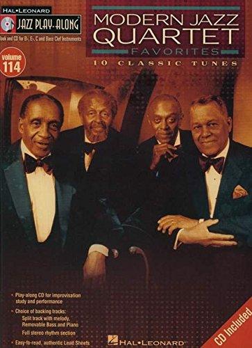 Modern Jazz Quartet Favorites: Jazz Play-Along Volume 114