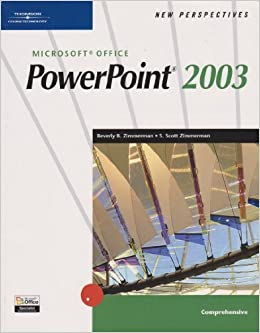 Book New Perspectives on Microsoft PowerPoint 2003: Comprehensive by J. Zimmerman (2004-01-28)
