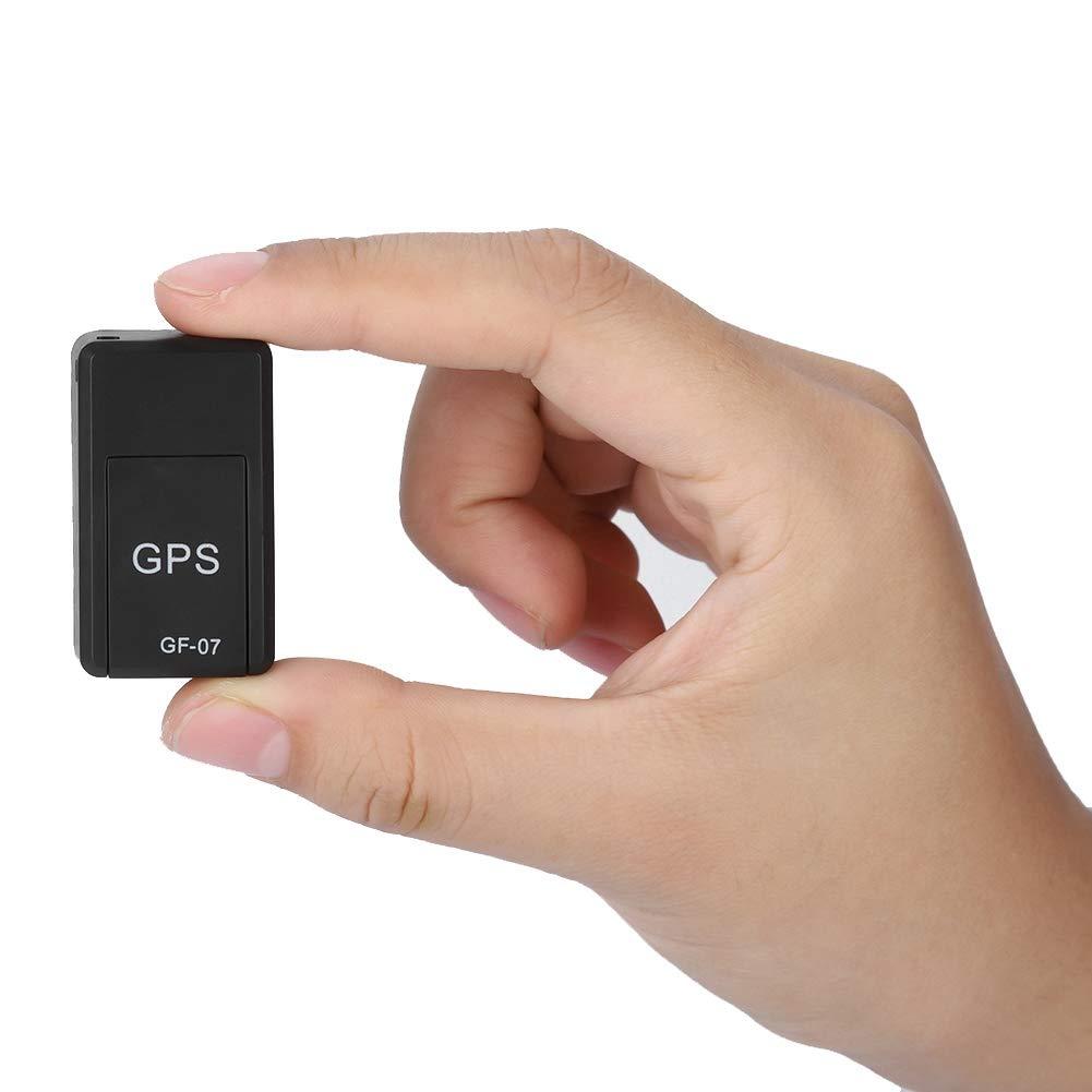 Tangxi Mini Rastreador GPS GPS Tracker,Localizador GPS con 2 potentes im/án,Sistema de Seguimiento GPS y LBS,Control Remoto de Soporte para Coche//Veh/ículo//Motocicleta,para iOS y Android