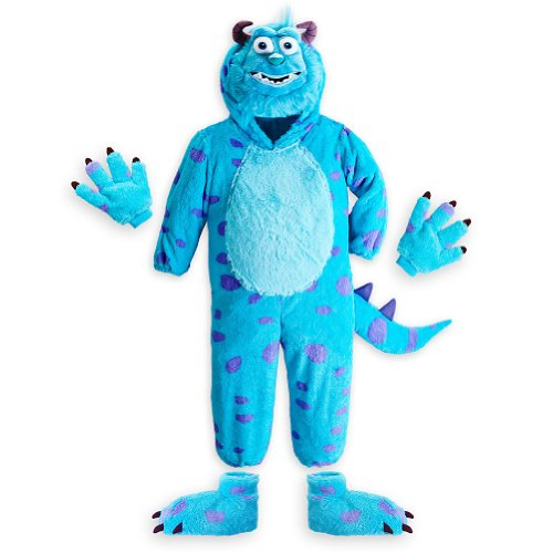 [Disney Store Monsters University Sulley Halloween Costume Size XS 4] (Sully Monsters Inc Costume Toddler)