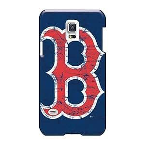 RobAmarook Samsung Galaxy S5 Mini Best Hard Phone Case Customized Stylish Boston Red Sox Pattern [voC4582nBJc]