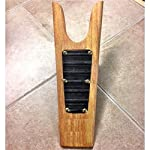 Roma Wooden Boot Jack With Rubber Grip Natural