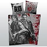 Herding Parure de lit lisse The Walking Dead Daryl + Rick arbalète de 135x 200cm NEUF–All-In-One Outlet 24-
