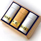 Kyoto Rikyu Gardens tea gift Four 4 tea-luxury Gyokuro Assorted Four 4 Sencha 120g2 this luxury Gyokuro 120g domestic tea leaves SEN-S-1503