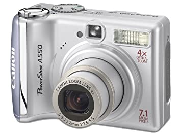 canon powershot a550 digital camera silver 2 0 lcd amazon co uk rh amazon co uk Canon PowerShot A590 canon powershot a550 instruction manual