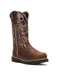 """John Deere Women's 11"""" Classic Pull-On Boot"""