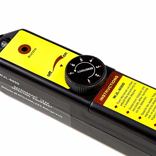 XtremepowerUS Premium 4CFM Air Vacuum Pump HVAC A/C Refrigeration Kit AC Manifold Gauge Case Set w/Leak Detector and Carrying Tote Bag by XtremepowerUS (Image #7)