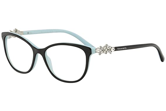 d616edc5a084 Tiffany 0TF2144HB-8055- BLACK BLUE 54mm womens at Amazon Men s ...
