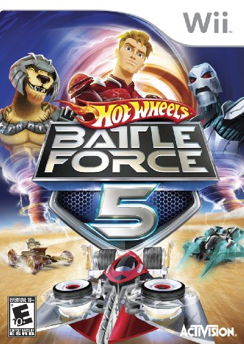 Hot Wheels: Battle Force 5 - Nintendo Wii