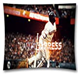AM Kingdom Sports Fan Pablo Sandoval of MLB Kung Fu Panda Teams Square Throw Pillow Cushion Cover for Couch and Bed 18x18 Inch (45x45 cm) Sports Theme 2323