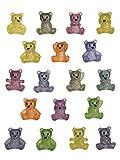 Little Bear Party Favors - 18 Pack Glitter Bears