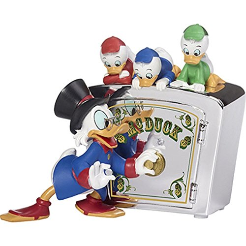 Precious Moments Disney Family is Priceless DuckTales Resin Bank 173702