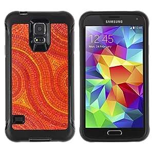 Suave TPU GEL Carcasa Funda Silicona Blando Estuche Caso de protección (para) Samsung Galaxy S5 V / CECELL Phone case / / Mosaic Pattern Art Floor Design Stones /