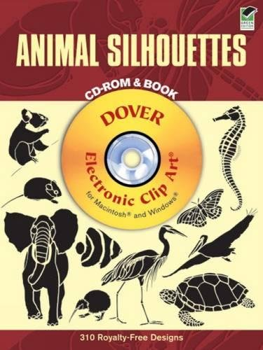 Download Animal Silhouettes CD-ROM and Book (Dover Electronic Clip Art) pdf