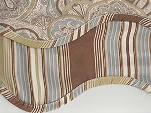 Amazon Com Waverly Paddock Shawl Paisley Stripe Scallop