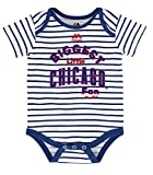 Chicago Cubs Infant Onesie Size 12 Months Bodysuit Creeper White With Stripes