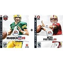 PS3 Combo Madden NFL 09 + NCAA Football 09 [Playstation 3]