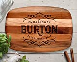 Wedding Gift, Custom Cutting Board, Teak, Personalized Cutting Board, Wood Cutting Board, Personalized Gift, Anniversary Gift, Gifts for Mom, Christmas Gift Ideas, Christmas 2018, Best Gifts