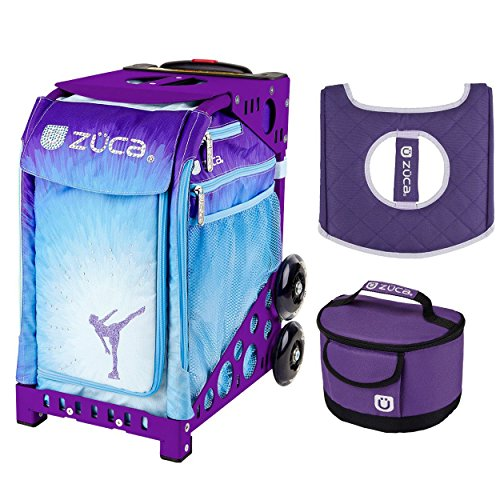 Zuca Ice Dreamz Insert Bag (Purple Frame) w/Gift Lunchbox and Seat ()