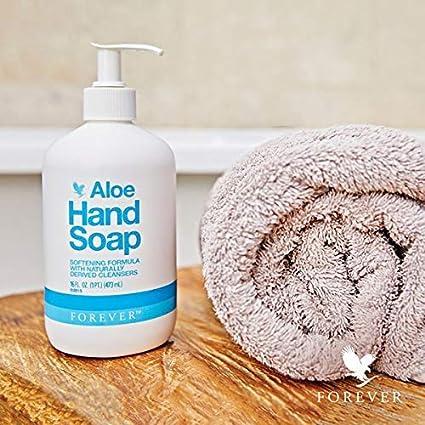 Aloe Hand Soap: Forever Living hand washing cream