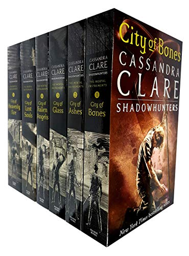 Cassandra Clare The Mortal Instruments Book 1-6 Collection 6 Books Set (City of Bones, City of Ashes, City Glass, City of Lost Soul, City of Fallen Angels, City of Heavenly Fire)
