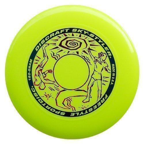 "2 opinioni per Discraft Sky-Styler 160g Freestyle Frisbee ""Sunburst""- giallo"
