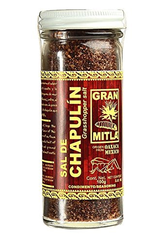 Gran Mitla Sal de Chapulin 100 Gram Jar by Gran Mitla