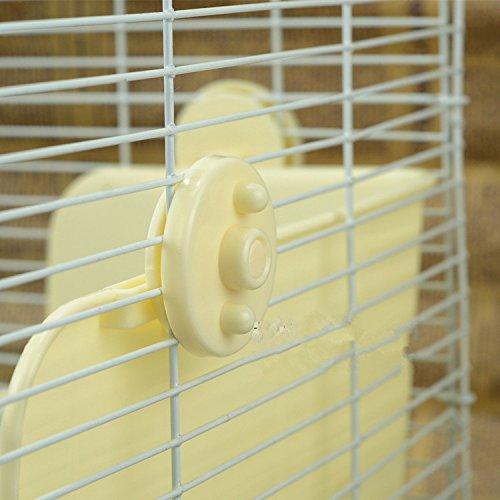 ZoeZ Square Potty Trainer Corner Litter Bedding Box Pet Pan for Small Animal/rabbit/guinea Pig/galesaur/ferret by ZoeZ (Image #3)
