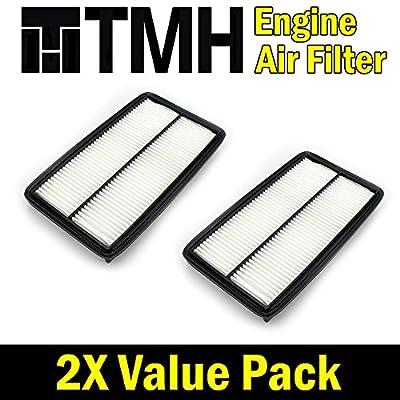 ( Pack of 2 ) TMH® TMH10013 GP013 ( CA10013 ) Premium Rigid EXtra Guard Panel Engine Air Filter