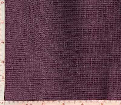 (Dark Purple Thermal Fabric 4 Way Stretch Polyester Spandex Lycra 8 Oz 58-60