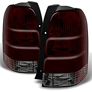 ford escape suv dark red rear tail lights tail. Black Bedroom Furniture Sets. Home Design Ideas