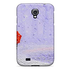 Fashionable SghLWtL3277vCaQV Galaxy S4 Case Cover For Drops Of Rain Protective Case