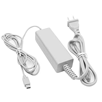 Amazon.com: Wii U Gamepad Charger, AC Power Adapter Charger ...