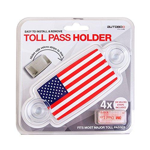 Autoboxclub Us Flag New Ez Pass Ipass Tag Import It All