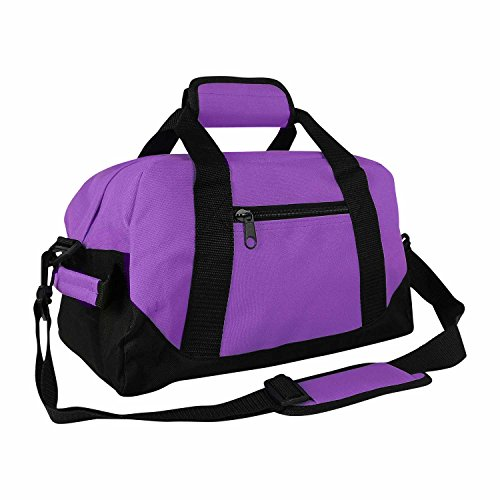 "Gym Bag Walmart: DALIX 14"" Small Duffle Bag Two Toned Gym Travel Bag"