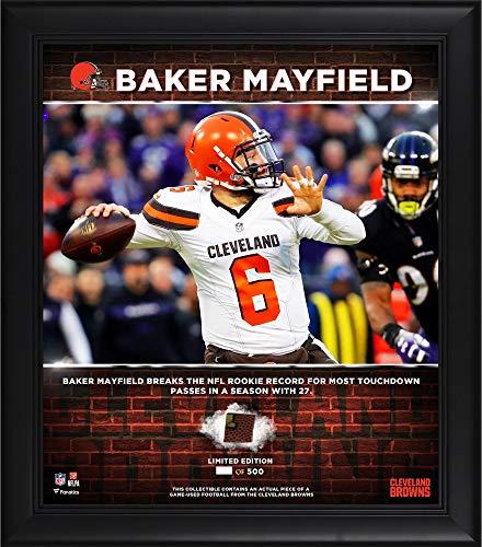 (Baker Mayfield Cleveland Browns Framed 15