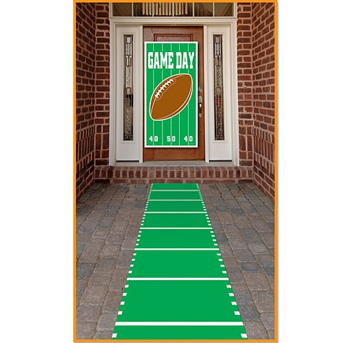 Sports Field Runner (poly w/double-stick tape) Party Accessory  (1 count) - Down Runners Double