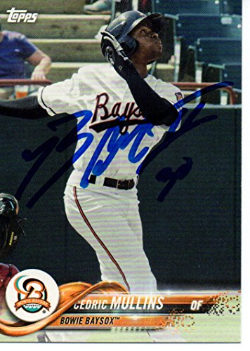 Cedric Mullins Bowie BaySox 2018 Topps Pro Debut Signed Card