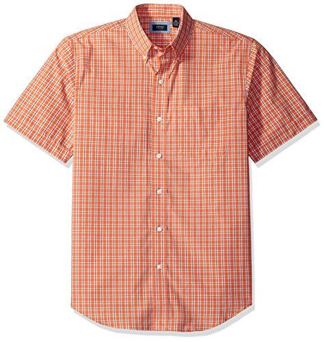 Arrow Men's Hamilton Plaid Short Sleeve Shirt, Arabesque, X-Large