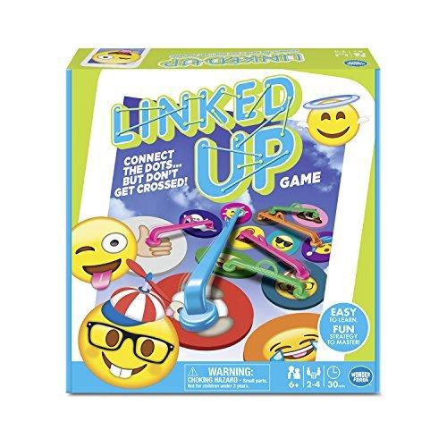 Emoji Linked Up Game Board Game [並行輸入品] B07SC6HHWH