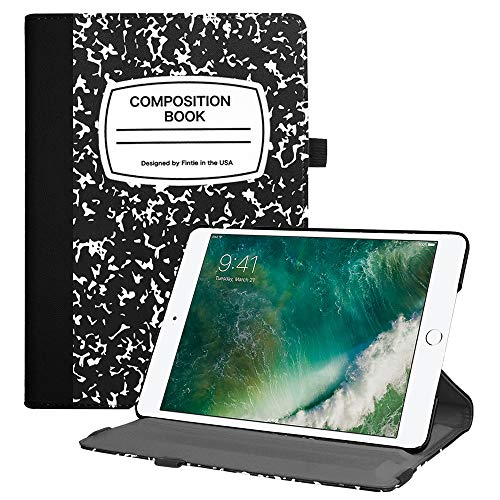 Fintie iPad 9.7 2018 2017 / iPad Air 2 / iPad Air Case - Multiple Angles Stand Smart Protective Cover w/Auto Sleep Wake for iPad 9.7 inch (6th Gen, 5th Gen) / iPad Air 2 / iPad Air, Composition Book