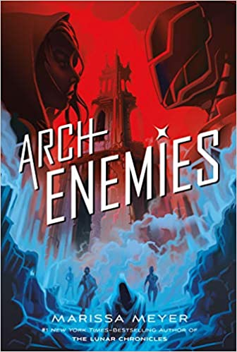 Image result for archenemies book cover