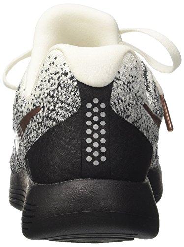 Nike Lunarepic Low Fk 2 X-plore Mens Scarpe Da Corsa Bianche