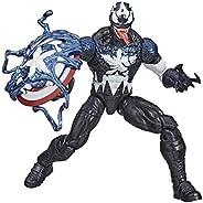 Figura Hasbro Marvel Legends Series Venomized Capitão América - E8894 - Hasbro