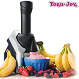 Yogu Joy Frozen Yogurt–Sorbetière, 220W, noir/argent