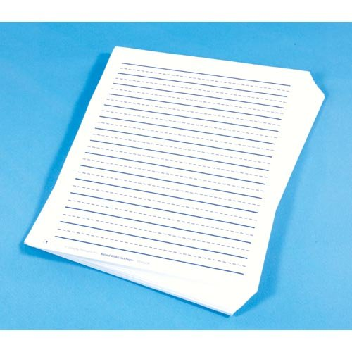 (None Wide Lined Raised Paper)
