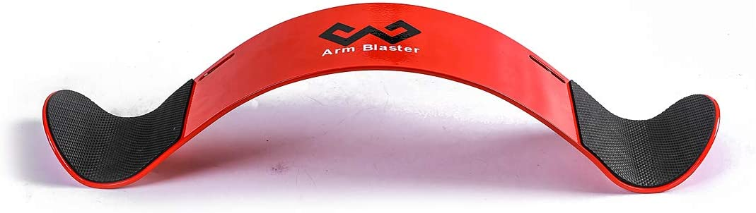 W WAISFIT Arm Blaster Bicep Curl Thick Aluminum Adjustable Bodybuilding Bicep Isolator Red : Sports & Outdoors